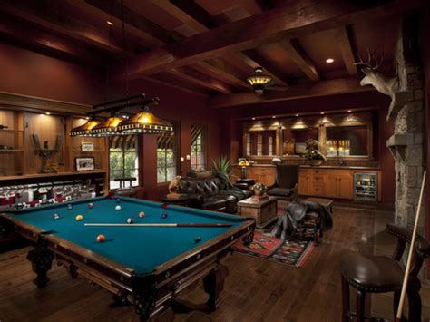 pub room build and design your own house game man cave room design