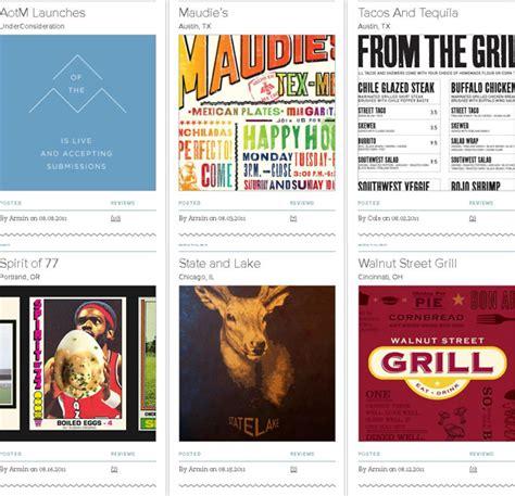 layout magazine exle diner menu design