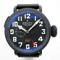 C753 Blackred zenith pilot montre d aeronef type 20 black automatic for 4 250 for sale from a trusted