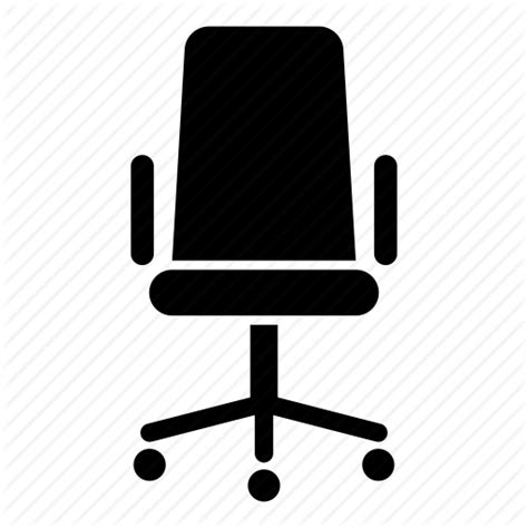 Boss Chair Desk Furniture Office Seat Table Icon Office Desk Icon