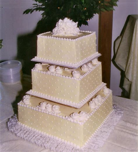 square wedding cake square wedding cakes 171 s bakery