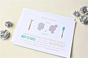 his and hers couples wedding shower invitations