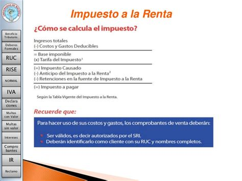 tabla de impuesto ala renta 2016 gastos deducible 2016 deduccion de impuestos a la renta sunat c 243 mo se