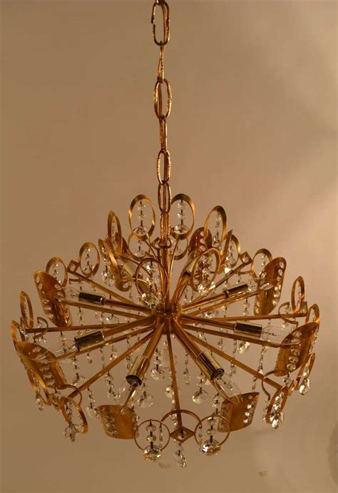 Gold Chandeliers For Sale Sciolari Gold And Chandelier For Sale At 1stdibs