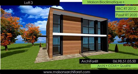Construction Maison Style Loft 2659 by Maison Loft D Architecte Constructeur Moderne Contemporain