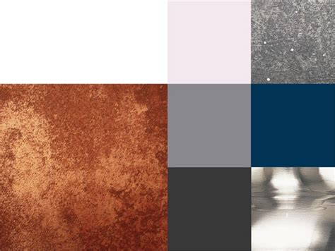 colors that go with copper colour scheme copper highlights muted greys with hints