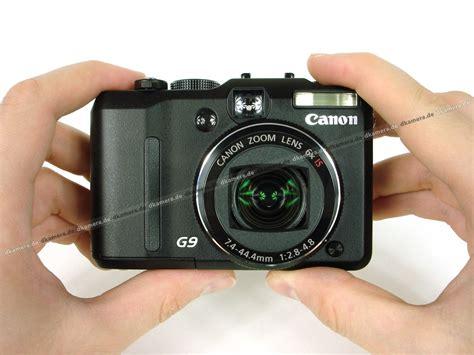 Kamera Canon G9 die kamera testbericht zur canon powershot g9