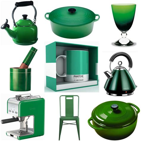 green accessories for kitchen emerald green 3 ways to use color of the year in the