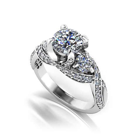 Designer Engagement Rings by Three Designer Engagement Ring Jewelry Designs