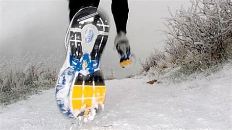 snow cleats for running shoes the 10 best running shoes for snow days complex