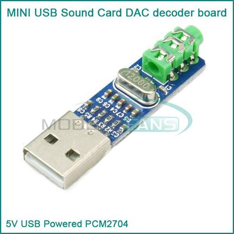 how to make a usb sound card 5v usb powered pcm2704 mini usb sound card dac decoder