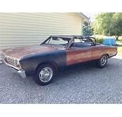 Buy Used 1967 Chevelle Malibu Convertible V 8 Auto  Rare