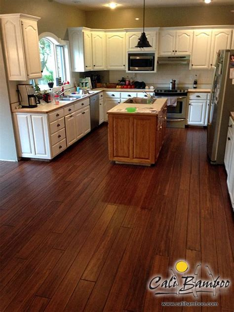 Bamboo Flooring In Kitchen Antique Bamboo Flooring For The Kitchen Bamboo