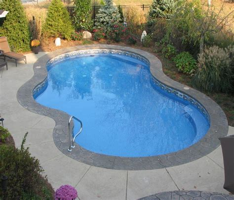 swimming pool in backyard backyard pools inc