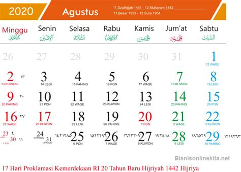 kalender  bulan mei