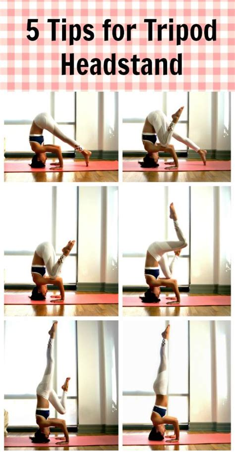 yoga headstand tutorial step by step tutorial and tips for finding stability in
