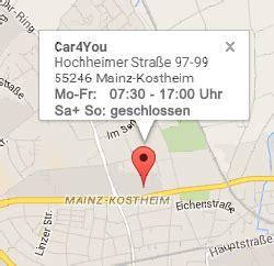 Kfz Lackierer Mainz by Car4you Ihr Kfz Spezialist In Mainz Kostheim