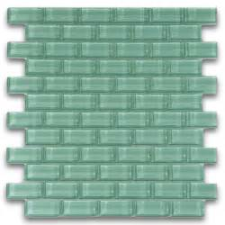 glass tiles sage green 1x2 mini glass subway tile for backsplashes showers more sqft