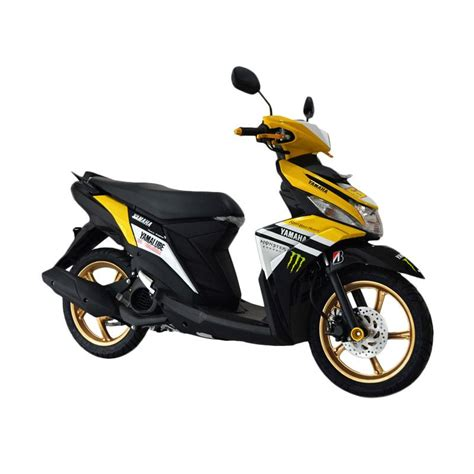 Kiprok Mio M3 125 Yamaha Asli jual yamaha mio m3 125 custom sepeda motor yellow harga kualitas terjamin blibli