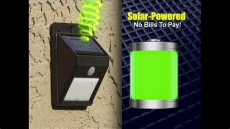 Ever Brite Tv Spot Wireless Solar Powered Light Ispot Tv Solar Brite Lights