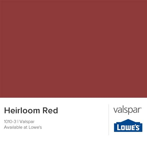 heirloom from valspar for the home