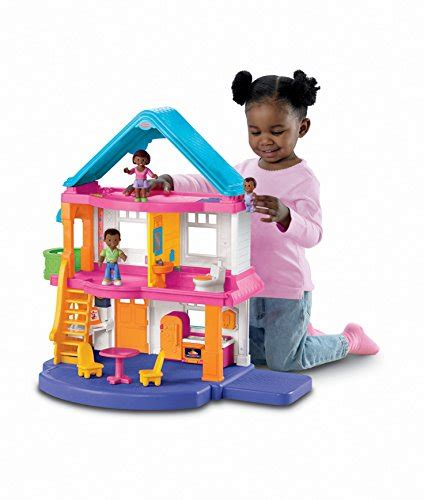 doll house play set fisher price my first dollhouse playset desertcart