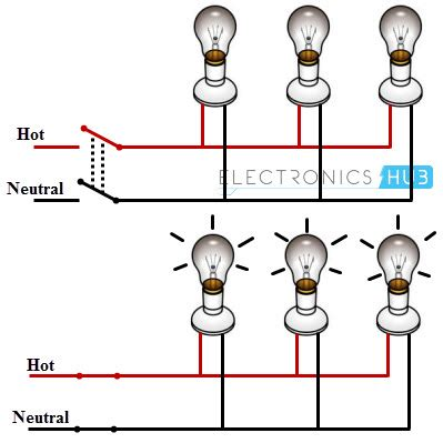 wiring lights in parallel diagram 33 wiring diagram
