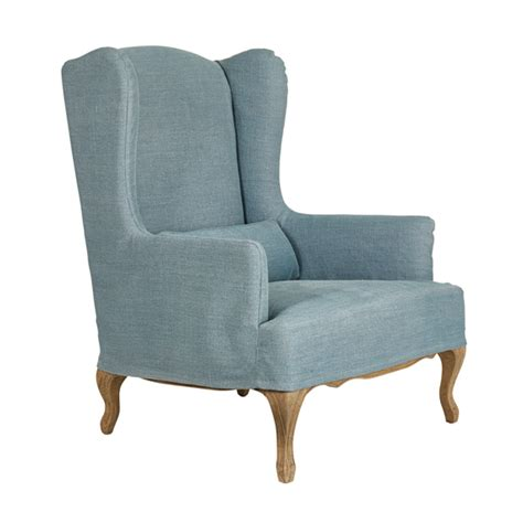 Wing Armchair Covers by Cover For Clandon Wing Chair Oka