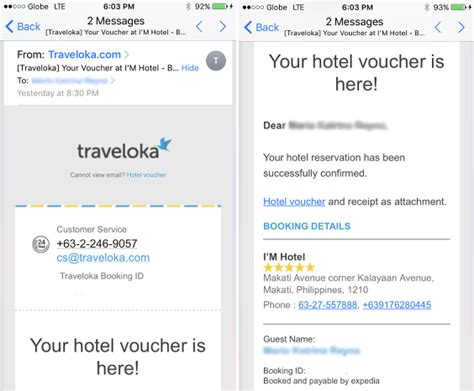 email traveloka how i easily made a last minute hotel booking using the