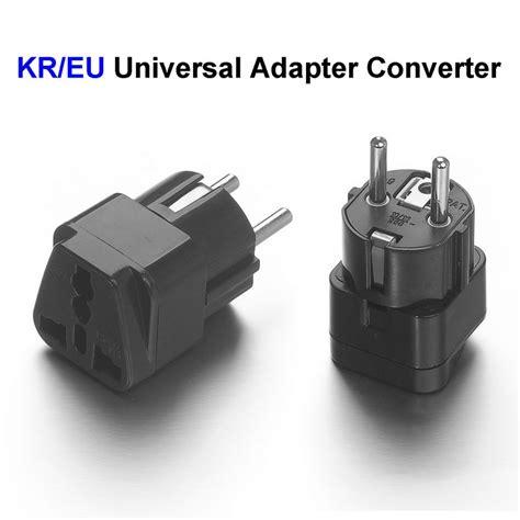 Popsockets Universal Quality 6 high quality universal eu south korea adapter converter us uk to european ac travel power