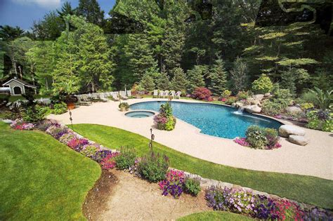 pictures of inground pools in small backyards small inground pools ideas