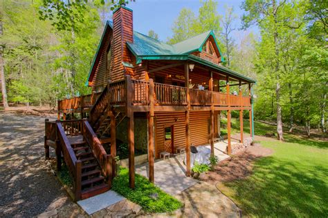 Cabins For Sale Blue Ridge Ga by Creek Front Cabin For Sale In Blue Ridge Ga
