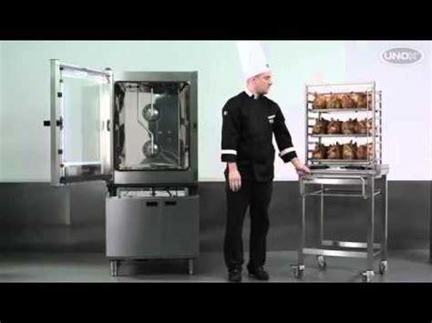 Oven Unox unox cheftop combi oven roasting chickens