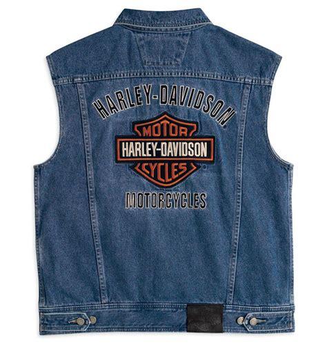 Motorrad Jeansweste Herren by 99041 08vm Harley Davidson Jeansweste Bar Shield Im