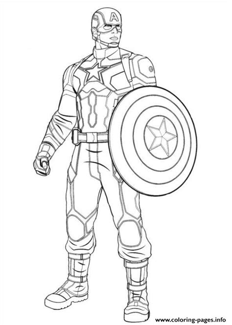 printable coloring pages captain america captain america civil war 04 coloring pages printable