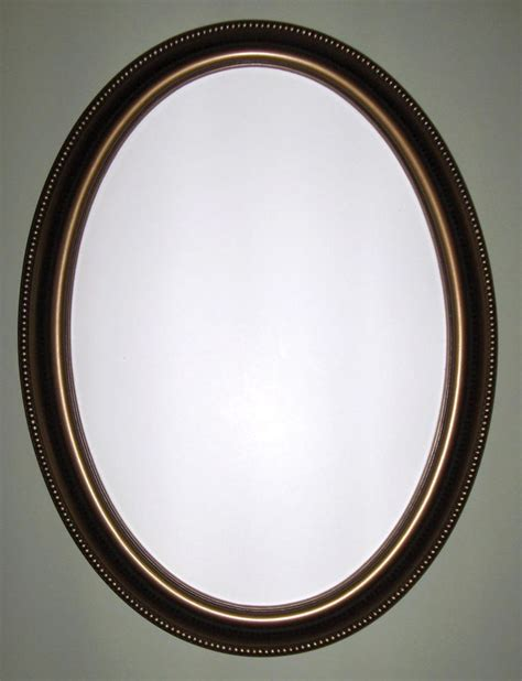 Framed Oval Mirrors For Bathrooms Oval Mirror With Bronze Color Frame Wall Mirror Bathroom Mirror Vanity Mirror Bathroom