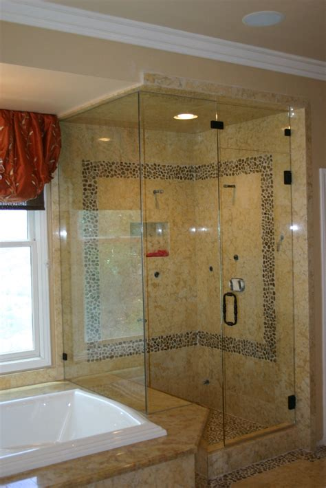 Showers At Lax by Custom Frameless Shower Doors Los Angeles Gallo