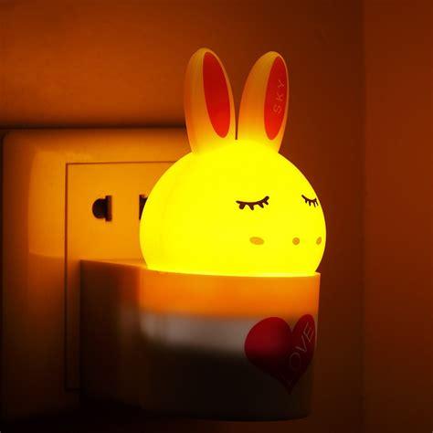 small night light l led small night light plug in light control sensor light