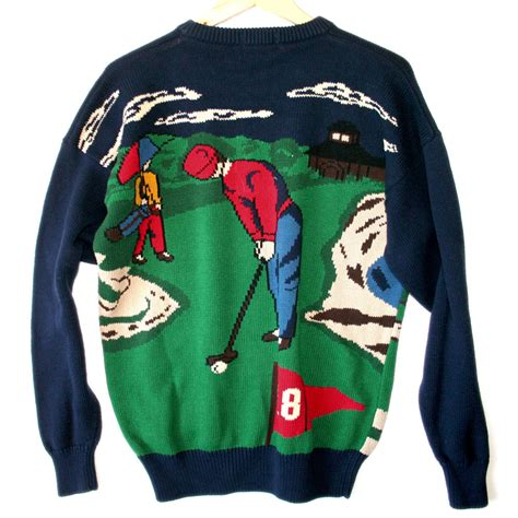 to play at sweater hathaway quot play through the quot s tacky golf