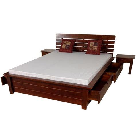 letto cassettone matrimoniale letto etnico con cassettoni legno massello mobili etnici