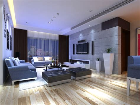 posh interiors posh living room interior with home theater 3d model max