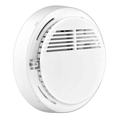 Alarm Deteksi Kebakaran Sensor Detector Smoke Heat Asap Api Panas alat pendeteksi asap dilengkapi dengan alarm menjaga keamanan rumah anda tokokomputer007