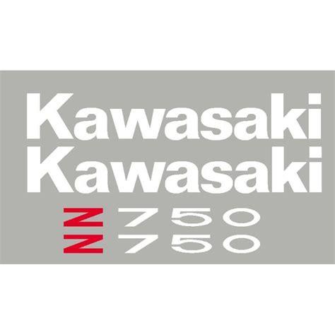 Sticker Origine Kawasaki by Kit Stickers Autocollants Kawasaki Z750 Ou Z1000