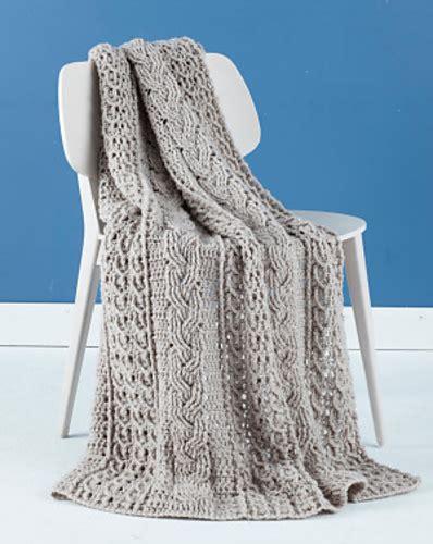 lionbrand pattern finder celtic afghan pattern by lion brand yarn free pattern