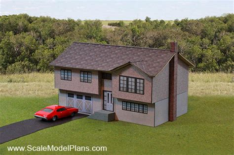 scale model house plans carstock construction in o scale o gauge railroading on