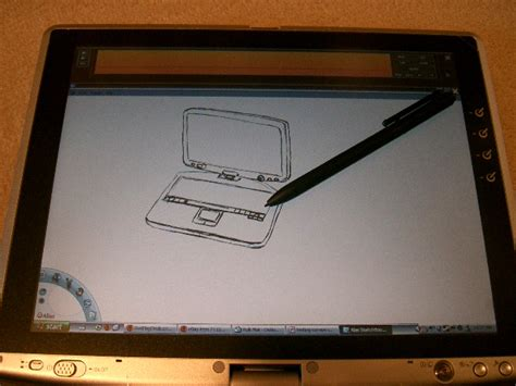 Drawing Pad For Pc by Toshiba Portege M200 Review And Tablet Pc Overview Part 2
