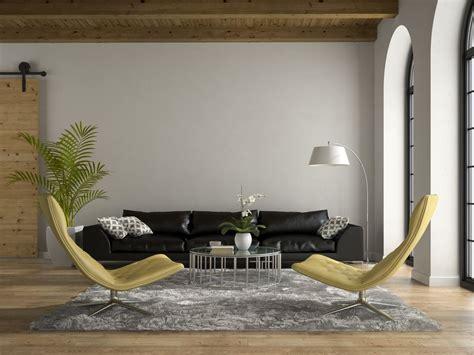wohnzimmer sessel modern schwarze sofas wohnzimmer motto black is back