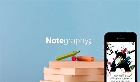 notegraphy a graphic design app for all edinburgh creative media