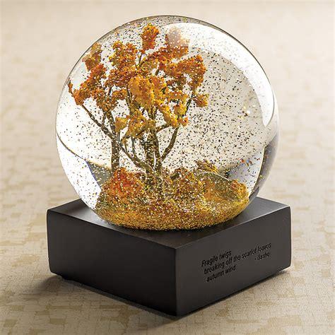 Water Globe autumn trees water globe gump s
