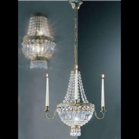 kronleuchter glas kristall kronleuchter candela metall glas bronze kristall 3 flammig